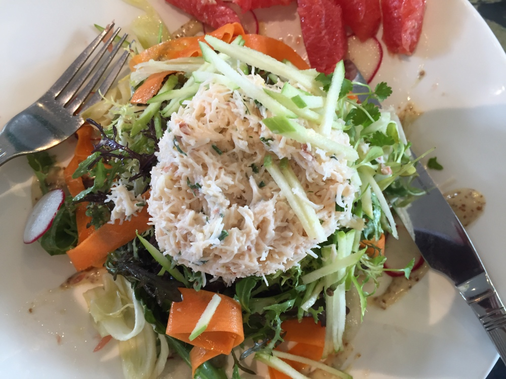 Lunch - at work, at home or eating out. October 13 2015 (1/2)