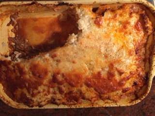 Cottage pie,  but not as you know it. 29 October 2015. (3/6)
